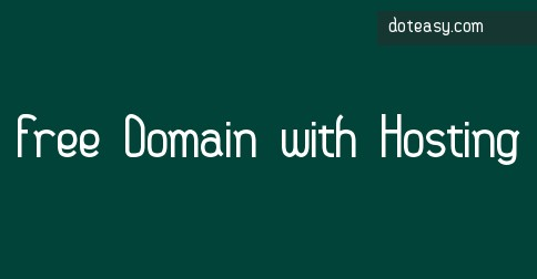 DotEasy.Com - Free Domain with Web Hosting Purchases