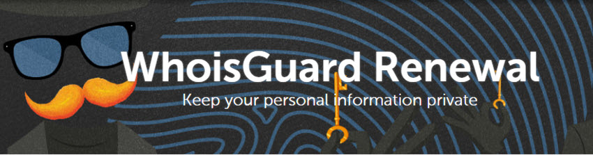 NameCheap $1 WhoisGuard Renewal