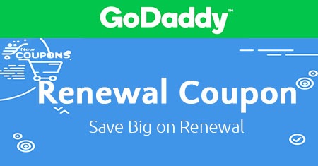 GODADDY COUPON RENEWAL 2019