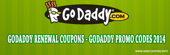 Discount coupons godaddy
