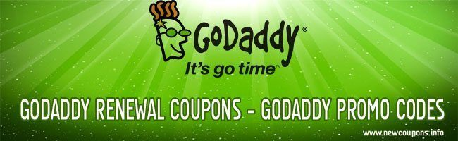 godaddy renewal coupons promo codes1 GoDaddy Renewal Coupon for December 2014.