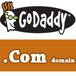 $2.95 .Com Godaddy domain coupon in October 2017