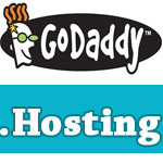Godaddy coupon hosting $12/y plus free domain