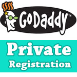Godaddy Private Registration Coupon for Only $1.00/yr
