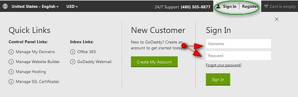 How to Renew Products at GoDaddy