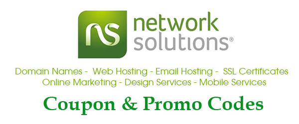 Network Solutions Offer Code: $1 .Com Registration - 50% Off Hosting - Save Big on Renewal