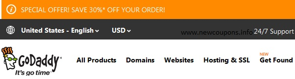 how to check the valid coupon off GoDaddy GoDaddy Web Hosting Review 2014