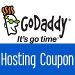 GoDaddy $1 Hosting Coupon – 50% Off All Plans plus Free Domain