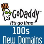 40% off GoDaddy new domain coupon in July 2017
