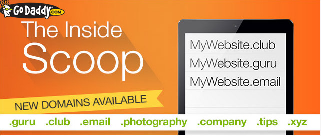 godaddy new domains promo codes GoDaddy New Domains Coupon Codes October 2014: Up to 39% Off