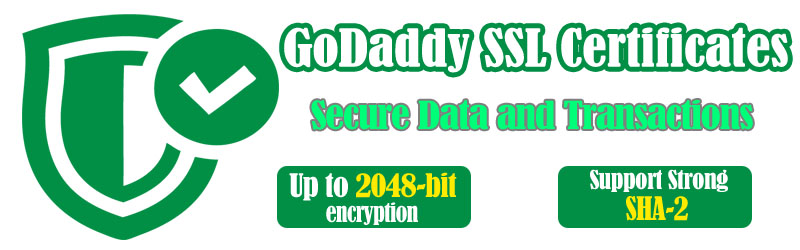 Godaddy SSL Certificates Coupon May 2018 - Up to 40% Off