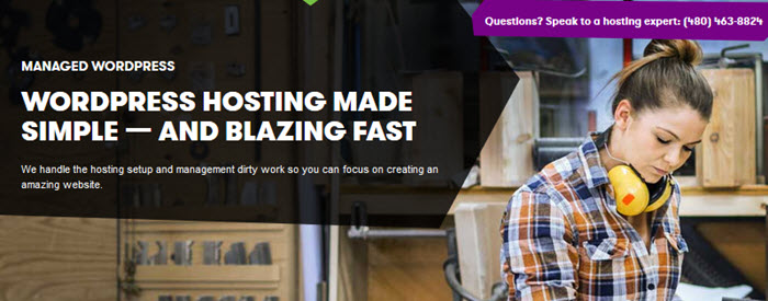 GoDaddy WordPress Hosting: Blazing Fast, Secure.