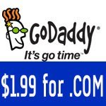 $1.99 .Com GoDaddy Promo Codes in April 2018