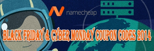 Namecheap Black Friday & Cyber Monday Coupon Codes