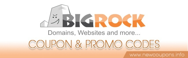 BigRock Coupon & Promo Code in 2017