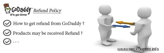Godaddy Policy: How you get refund from GoDaddy ?