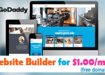 GoDaddy GoCentral Website Builder Promo Code