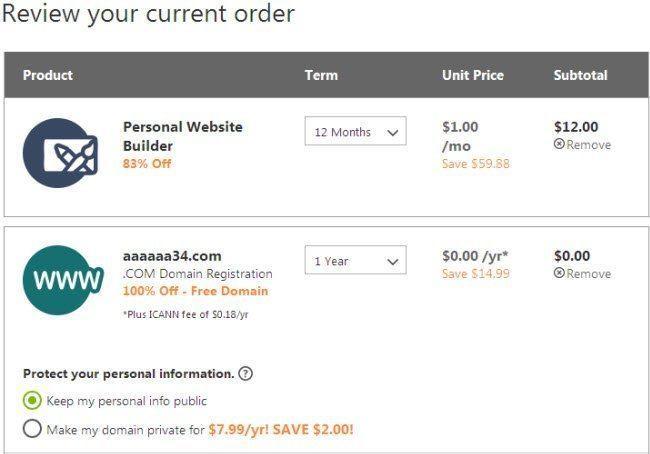Godaddy Website Builder Promo Code 1 00 M Free Domain