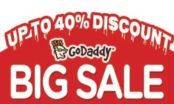 GoDaddy Big Sale: Up to 35% off all products & services!