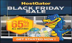 HostGator Black Friday 2015 Flash Sales: 80% off
