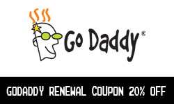 GoDaddy Renewal Coupon 20% off – Valid to Dec 20