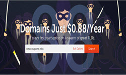 Domains only 88 cent at NameCheap in April 2017