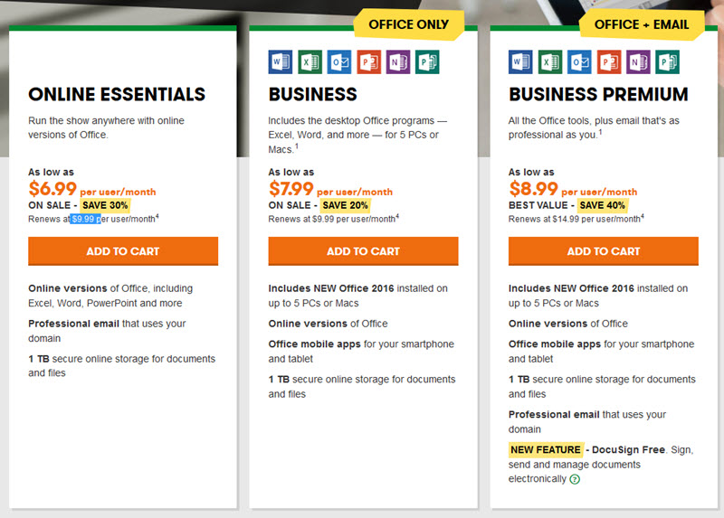 A Review of GoDaddy's Microsoft Office 365