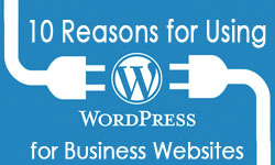 10 Reasons for Using WordPress for Business Websites