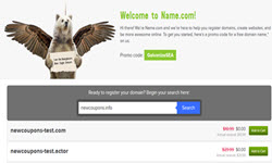 FREE domain name from Name.Com
