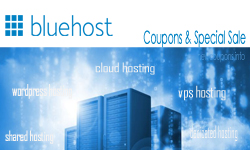 BlueHost coupon in May 2017 for save 63% new hosting