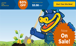 HostGator Sale: 60% Off New Hosting + $5 Select Domains