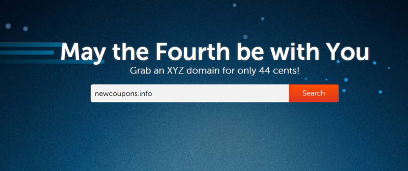 NameCheap .XYZ domain coupon for just 26 cents.