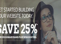 Domain.Com Promotions: Save 25%, can use for domain transfer