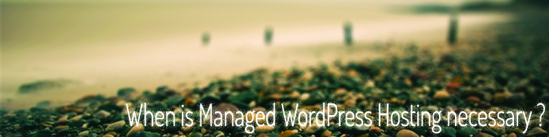 When is Managed WordPress Hosting necessary