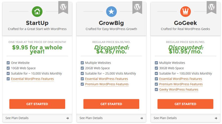 SiteGround Promotion: WordPress Hosting for just $9.95/yr