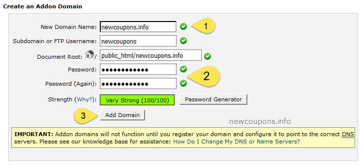 How to add subdomain on GoDaddy Domain Control