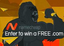 Free .Com domain from NameCheap