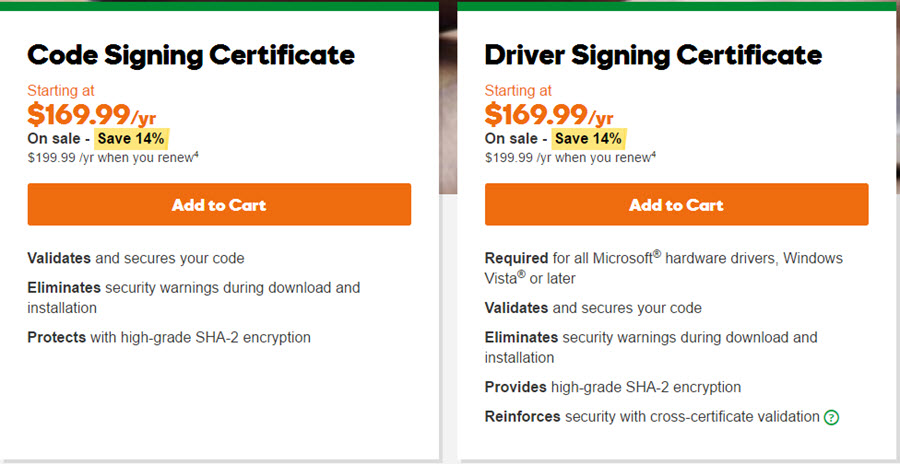 godaddy-code-signing-plans