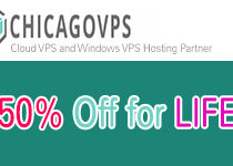 Latest ChicagoVps Coupon April 2017: Save 50% for Life