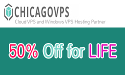 Special Coupon to get 50% off VPS plans at ChicagoVPS