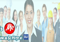 .Me domain now just $2.99/year at 1and1