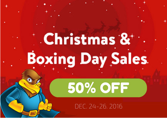 hawkhost christmas boxing day deals