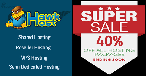 Latest HawkHost Coupon & Promo Code September 2017
