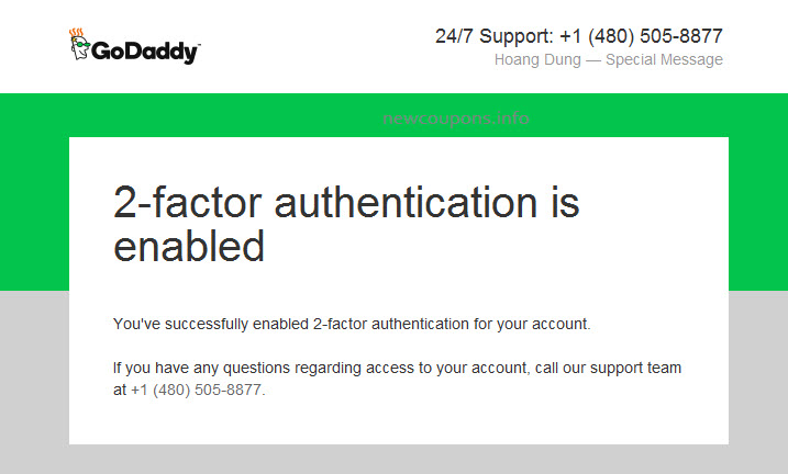 How Enable 2-step Verification using Mobile App at GoDaddy