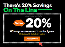 How you get 20% off on renewals at GoDaddy ?