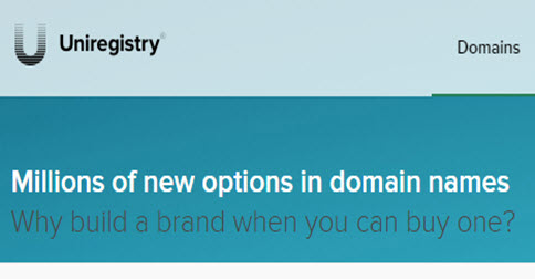 Uniregistry.Com - Up to 25% off on Domain Registrations