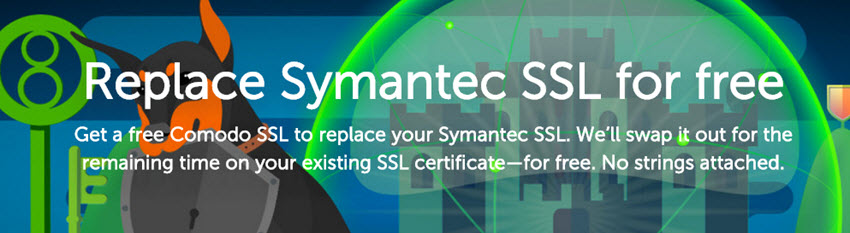 Namecheap Replace Symantec SSL for free