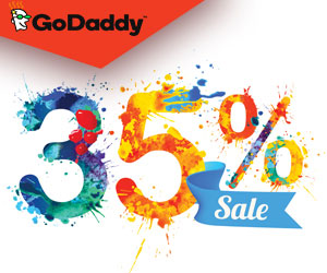 GoDaddy 35% off! Big Savings For Your Small Business!