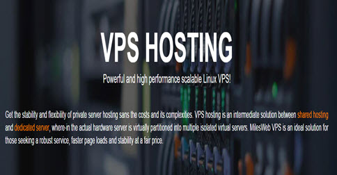 MilesWeb - 5% Off On KVM VPS Hosting