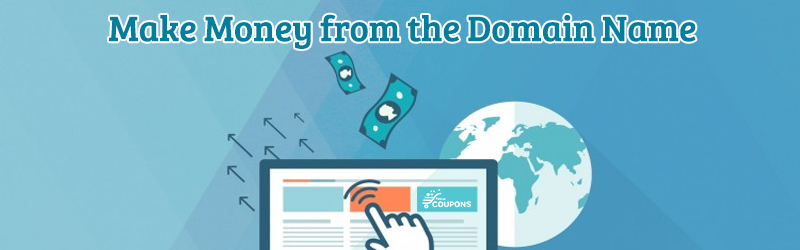 make money from domain names